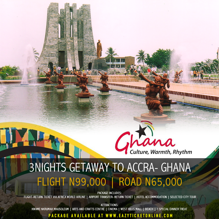 3NIGHTS Amazing weekend in Ghana
